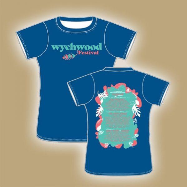 Blue-Ladies-T-Shirt